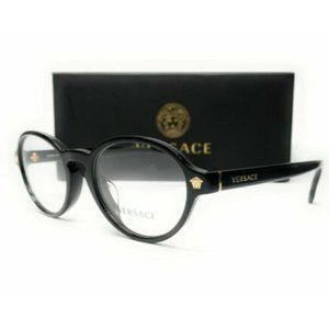 Versace Women's Black Eyeglasses!